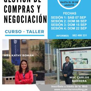 Curso Taller: Gestión de Compras y Negociación (Septiembre 2019)